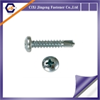 All size carbon steel pan head phillips driver screw